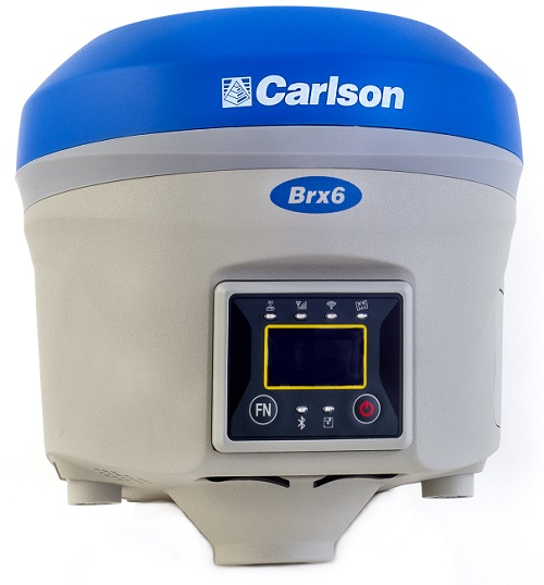The New BRx6 GNSS Receiver from Carlson Software.